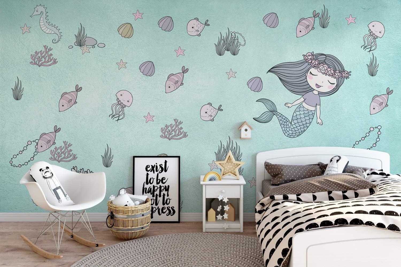 Mermaid-Themed Girl Bedroom Ideas
