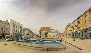 Photo: Turda - Piata Republicii - fantana arteziana - 2019.03.01