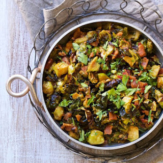 Bacon Roasted Brussels Sprouts.