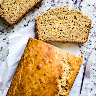 Healthy One Bowl Whole Wheat Banana Bread
