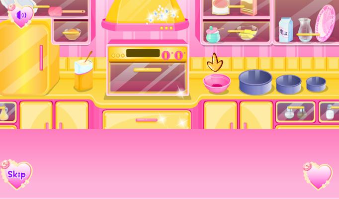 Cook Girls Prepare cake Games - screenshot