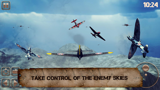 World War of Warplanes 2: WW2 Plane Dogfight Game game (apk) free download for Android/PC/Windows screenshot