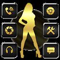 Dark Sex Miss Theme icon