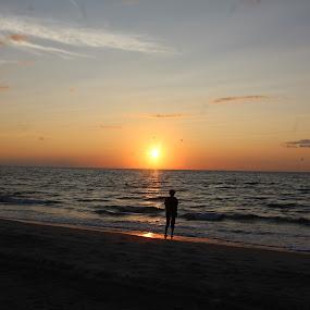 Sunrise by Rohan Jackson - Landscapes Sunsets & Sunrises