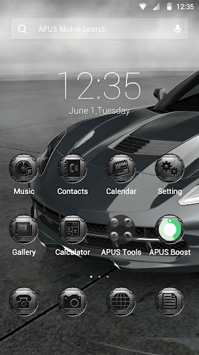 Speed Machine theme for APUS