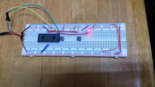 LPC1114 on a Breadboard