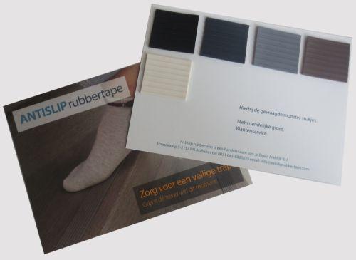 kleurkaartje antislip