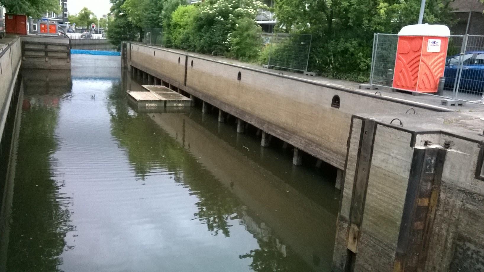 Onderhoud Westerhavensluis