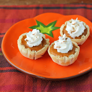 Pumpkin Pie Bites.