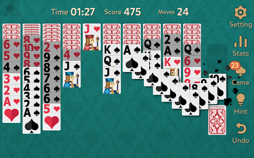 Spider Solitaire: Kingdom modavailable screenshots 2