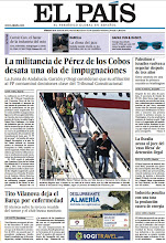 Photo: En la portada de El País: La militancia de Pérez de los Cobos desata una ola de impugnaciones; Tito Vilanova deja el Barça por enfermedad; y en Babelia: Melody Gardot, la diosa del jazz. http://cort.as/4oIM