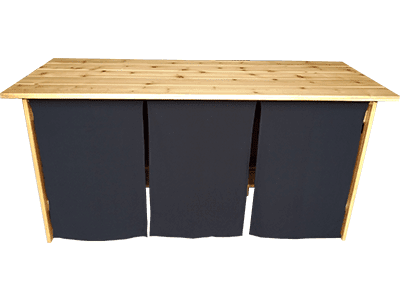 Bar Skirt Rental