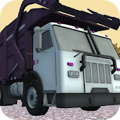Trash Truck Garbage Traffic Racer 3D