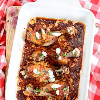 Baked spicy chicken Drumsticks.