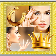 Gold Photo Collage Maker