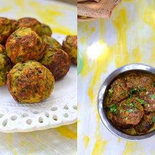 Zucchini Kofta Curry Recipe