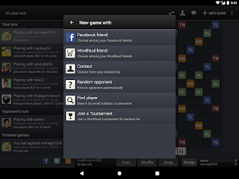 Wordfeud Free APK screenshot thumbnail 11