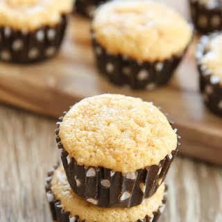 4 Ingredient Flourless Almond Butter Muffins.