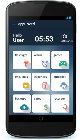 AppUNeed- screenshot