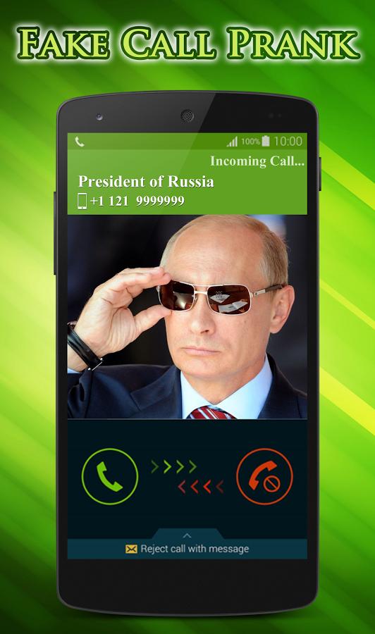 با برنامه شوخی Fake Call Prank تماس جعلی بسازید لاین استور