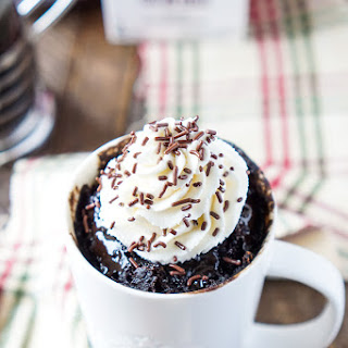 Simple Mocha Mug Cake in 5 Minutes