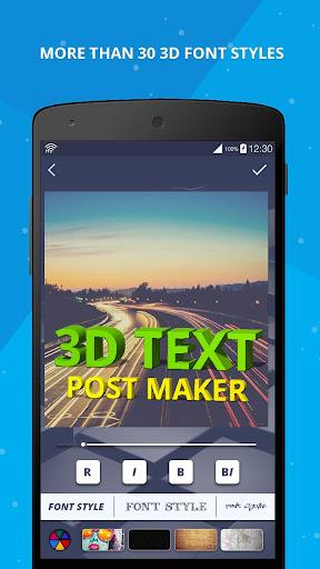 3D Name on Pics - 3D Text 8.1.1 screenshots 1