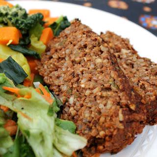 Lentil & Rice Loaf