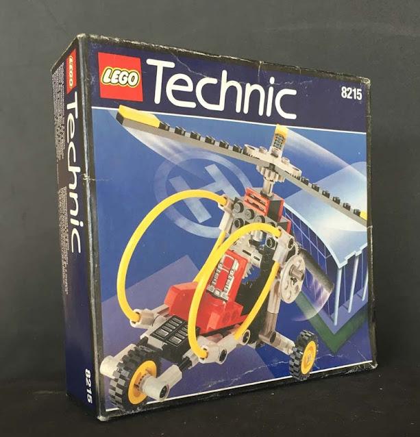 Contenido de Lego® 8215 Gyro Copter
