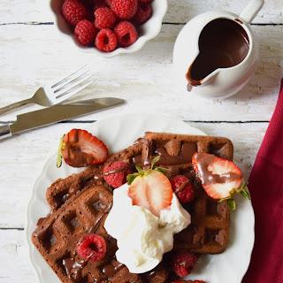 Easy Chocolate pancakes (eggless) (vegan)