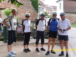 Photo: ... und 7 km bergab, und weiter bis Wissenbourg.