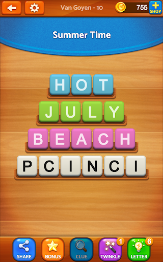 Word Jumble Champion - screenshot