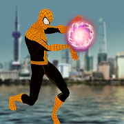 Flying Spider Superhero:  Avenger Battle