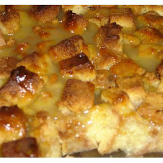 Bread Pudding With Lemon Sauce