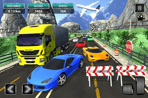 Real Traffic Simulator - Highway Racing 2019  captures d'u00e9cran 2