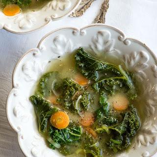Miso Ginger Kale Soup.