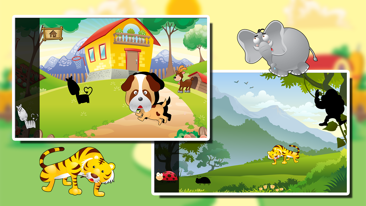 Baby Cartoon Jigsaw Puzzle- screenshot