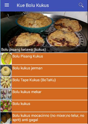 Kue Bolu Kukus Baru dan Enak screenshot
