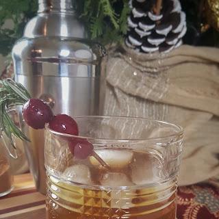 Holiday Debrief Cocktail.
