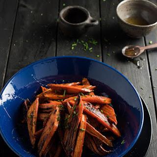 Spiced Honey Roasted Carrots