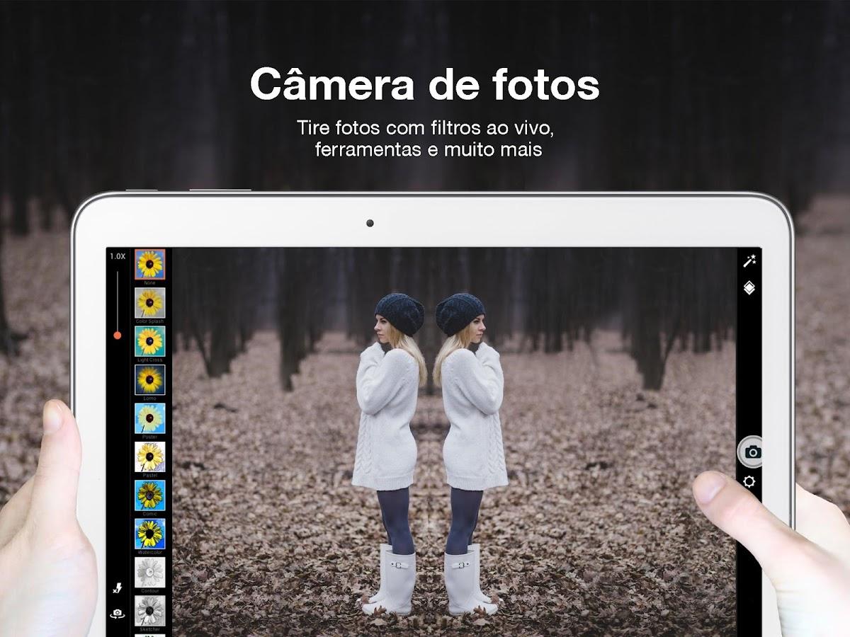 PicsArt – Editor de imagens: captura de tela