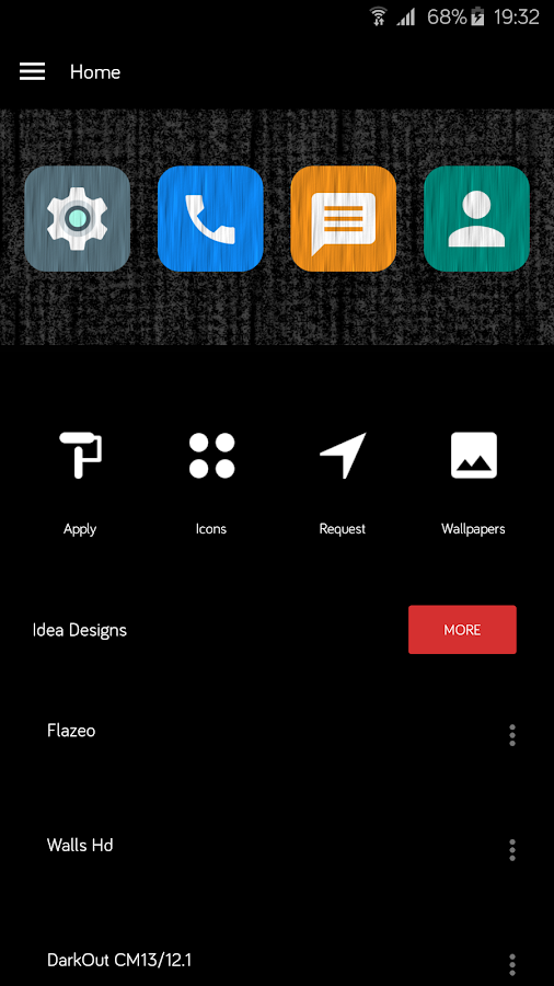Flazing - Icon Pack- screenshot