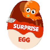 Surprise Eggs Color by Number - Pixel Art Coloring