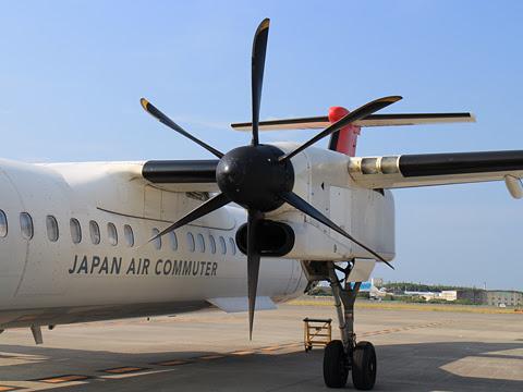 JAC 3592便 松山空港にて その2
