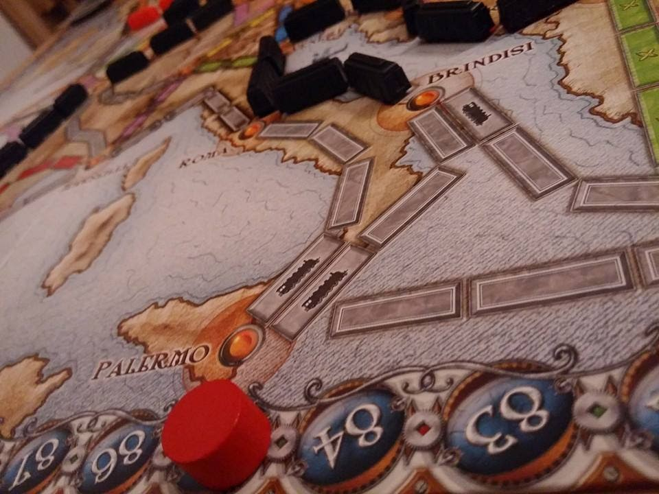Ticket to ride in corso