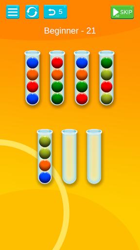 Ball Sort - Bubble Sort Puzzle Game apkdebit screenshots 4