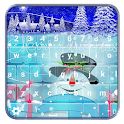 Winter Keyboard Themes icon