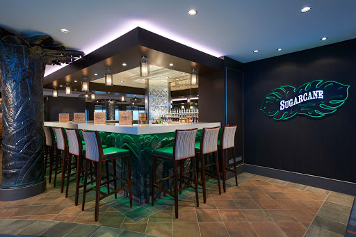 Norwegian-Escape-Suger-Cane - Sip at Sugarcane Mojito Bar, one of 21 bars and lounges on board Norwegian Escape.