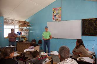 Photo: Pilar addresses teachers
