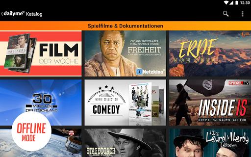 dailyme TV, Serien, Filme & Fernsehen TV Mediathek 20.05.02 screenshots 12