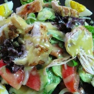 Corporate Salad With Mustard-honey Dressing